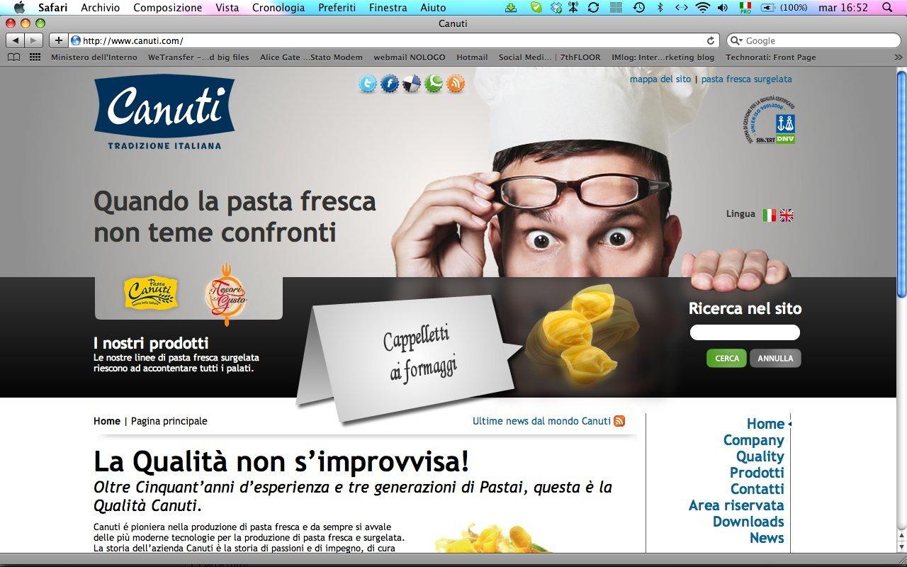 canuti homepage